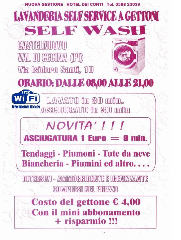 Hotel dei conti toscana for Lavanderia self service catania